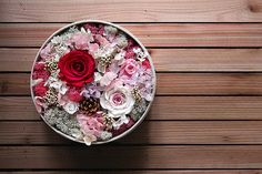 Preserved Fresh Flower  Valentine's Flower  by LeFloreBoutique