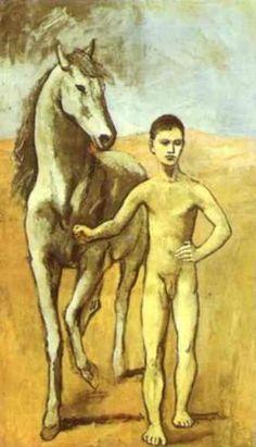 Picasso l'homme au cheval
