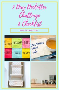 How to Declutter Your House In One Day!