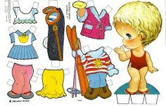 TODORECORTABLES SUEÑOS DE PAPEL: MUÑECAS DE PAPEL QUE MARCARON HISTORIA Bjd Dolls, Doll Toys, Decoupage, Image 3d, Samaritan's Purse, Paper Art, Paper Crafts, Paper Dolls Printable, Paper Houses