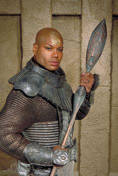 superheroesincolor: Teal'c (portrayed by Christopher Judge) // Stargate: Stargate Movie, Stargate Ships, Stargate Atlantis, Sci Fi Tv, Sci Fi Movies, Illuminati, Best Sci Fi Shows, Diamond Comics, Stargate Universe
