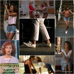"Dirty Dancing ""I carried a watermelon! Dirty Dancing, Dancing Baby, Mode Old School, I Carried A Watermelon, Jennifer Grey, Kinds Of Dance, Patrick Swayze, Star Wars, Dance Outfits"