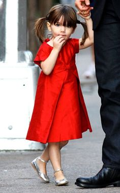 Suri Cruise. my fashion icon jk but really. She's a little diva.