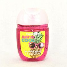 Gel antibactérien JUST BE COOL Bath and Body Works pocketbac US USA