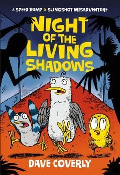 #CoverReveal: Night of the Living Shadows - Dave Coverly