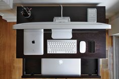 What my (future) desk will look like. .... Well my desk is actually more high tech