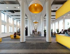 OIII Architects designed the interior of a new building for the University of Amsterdam.