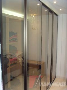 Porta Aluminio Reflecta | Porta de correr de alumínio | Viamonense
