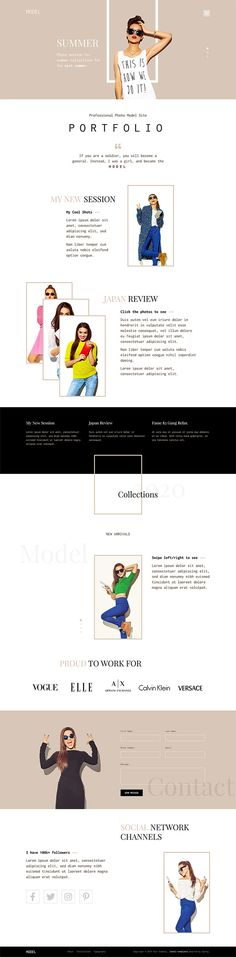 Model for is dedicated to photo models. If you are making a website for a this template integrates a photo stream of the model's portfolio into a modern and visually appealing website. Joomla Templates, Photography Portfolio, Hottest Models, Screen Shot, Colorful Backgrounds, Website, Modern, Trendy Tree