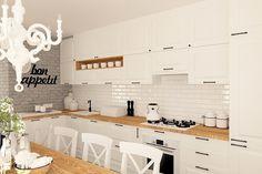 Kuchnia styl skandynawski - zdjęcie od MOTIF DESIGN - Kuchnia - Styl Skandynawski - MOTIF DESIGN