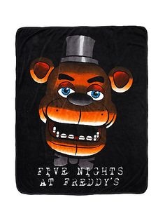 Five Nights At Freddy's Face ThrowFive Nights At Freddy's Face Throw,