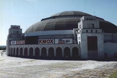 Arena front 1999 I saw the Three Stooges and the Banana Splits here in, hmm...1966? and my first hockey game here, maybe 1980?