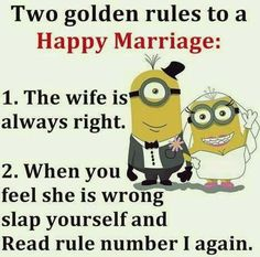 Tips for a happy marriage!