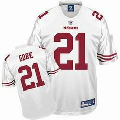 50d24dd67 Buy San Francisco 49ers  21 Frank Gore White Jersey NEW FOR 2009 2013 Frank  Gore · Frank GoreBlack ...