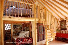 A Lofty Idea - Rainier Yurts
