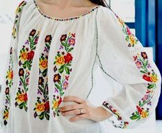 Mexican Style, Toyota, Cross Stitch, Bell Sleeve Top, Costumes, Popular, Traditional, Embroidery, Clothes For Women