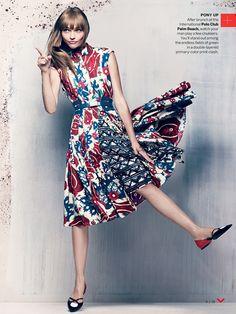 Sasha Pivovarova by Craig McDean for Vogue November 2013