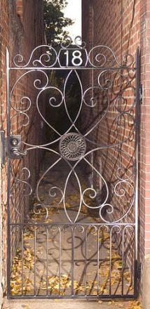 Wrought Iron Gate, Iron Fence, Iron Rails, and Iron Interiors from Shenandoah Decorative Ironworks - custom work