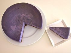 Ube Cheesecake: The first thing I'm attempting to bake/make after my May 3rd competition #hellafilipino I want ube ice cream, ube cake, ube Manon, #ubeEverything