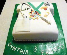 Torta para Enfermeros - Nurse Cake