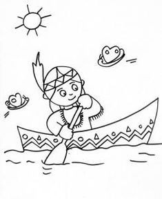 indien Via Winnie Indians Game, Cowboys And Indians, Adult Coloring, Coloring Books, Coloring Pages, Native American Photos, American Indians, Thanksgiving Crafts, Fall Crafts