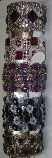 Metal bracelets on Paloma jewelry website