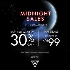 4549e96f23 14-16 Dec 2018  Guess Special Sale Malaysia