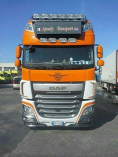 DAF XF Show Trucks, Big Rig Trucks, Custom Big Rigs, Road Train, Heavy Machinery, Diesel, Automotive Art, Cars And Motorcycles, Cool Cars