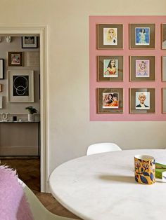 Give Your Artwork the Eyeliner Treatment With This Simple Painting Hack Gallery Wall Frames, Frames On Wall, Gallery Walls, Zebra Print Rug, Mad About The House, Monday Inspiration, Block Wall, Easy Paintings, Painting Tips