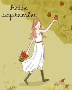 Positive Quotes For Women : Rose Hill Designs by Heather Stillufsen - Quotess Seasons Months, Months In A Year, Hallo September, Hello September Quotes, September Born, September Holidays, Hello December, Monica Crema, Neuer Monat