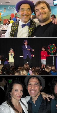 Jersey Jim is a professional entertainer who specializes in providing comedy magic shows for children's parties, corporate events and more. He appeared in the film Couples Retreat.
