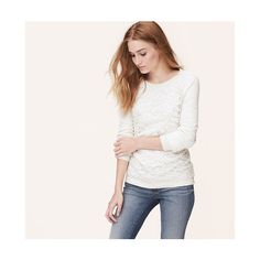 LOFT Lace Front Sweatshirt featuring polyvore, fashion, clothing, tops, hoodies, sweatshirts, popcorn, ballet neck top, lace up front top, lace front sweatshirt, sweatshirt hoodies and raglan top