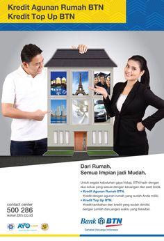 Kredit Agunan Rumah, kredit dengan agunan rumah untuk berbagai keperluan, a.n. renovasi rumah, biaya sekolah, liburan, beli mobil, beli mobil.