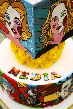 Romero Britto Cake — Birthday Cakes