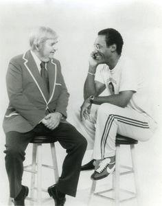 Captain Kangaroo and Bill Cosby
