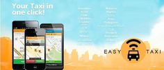 EASY TAXI - Founded in April 2012 in Rio de Janeiro, Brazil, Easy Taxi became the pioneer in online taxi service in Latin America. Currently available in 26 countries and 82 cities (and counting), the app has globally redefined taxi booking.