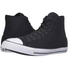 a677b01d0a70ce Converse Chuck Taylor® All Star® Brea Mono Leather Hi Black Black ...