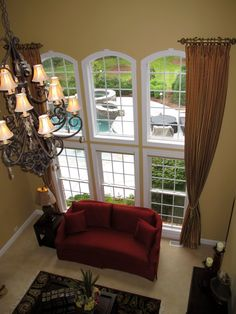Arched Windows Side Panels And Window On Pinterest