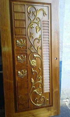 Single Door Design, Wooden Front Door Design, Wooden Front Doors, Door Design Photos, Modern Exterior Doors, Door Design Interior, Single Doors, Entrance Doors, Pasta