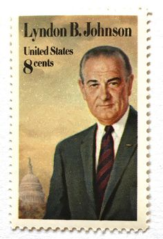 10 Vintage Lyndon Johnson Forever Stamps // US President from Texas // LBJ Vintage Postage Stamps for Mailing Lyndon B Johnson, Edelweiss, Commemorative Stamps, Rare Stamps, Us Presidents, American Presidents, Stamp Collecting, Postage Stamps, United States