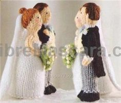KNITTING PATTERN BRIDE AND GROOM | FREE KNITTING PATTERNS #lingerie #gifts #forher #her #valentines #valentinesday #ladies #female #outfit #morning #ideas #dressingup #erotic #valentinegift