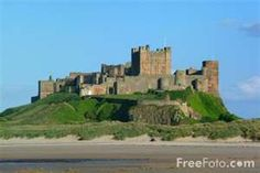 Picture of Bamburgh Castle, Northumberland, England - Free Pictures ...