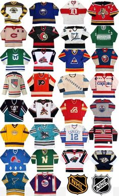 NHL Original SWEATERS: