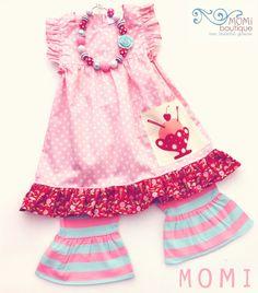 Sweet Ruby dress by Pink MOMI