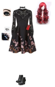 """So I have a job interview tomorrow..."" by the-sickest666 ❤ liked on Polyvore featuring Elie Saab and Fergalicious"
