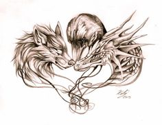 http://lucky978.deviantart.com/art/Wolf-Dragon-and-Crow-Tattoo-398055778