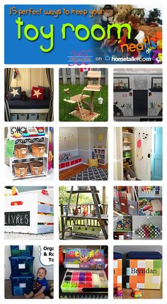 Keep your toy room organized - always!