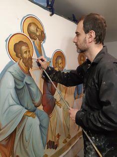 Greek Icons, Russian Orthodox, Krishna Art, Orthodox Icons, I Icon, Religious Art, Romania, Catholic, Medieval