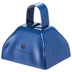 - Make some noise with your next promotion with this metallic cowbell!