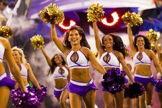 Baltimore Ravens Cheerleaders.